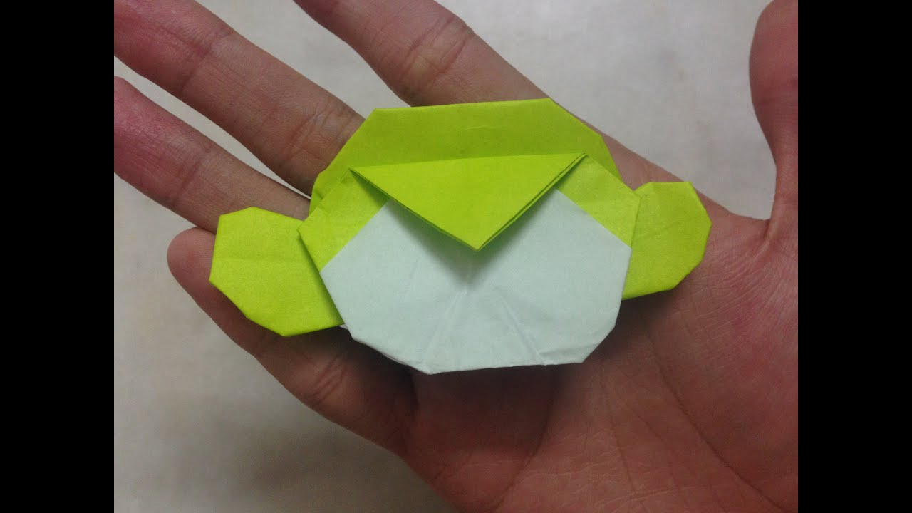 Origami Monkey Head Carlson Choo Tutorial