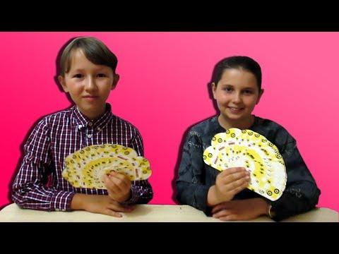 Челлендж Игра Силомер с карточками Гадкий Я 3 I Померимся силой в закрытую!