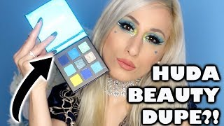 $4 HUDA BEAUTY Sapphire Obsessions Eyeshadow Palette DUPE?!