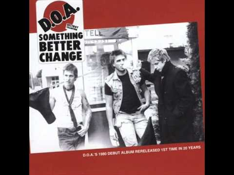 "D.O.A. - ""Watcha Gonna Do?""(1980)"