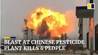 China chemical explosion 2019: Jiangsu Tianjiayi Chemical plant kills 47 people