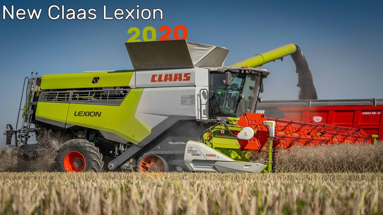 HARVEST 2019 WITH NEW CLAAS LEXION 2020 🤪