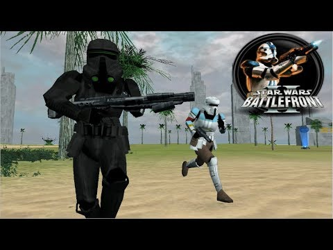 Star Wars Battlefront II Mod - Rogue One Scarif /W Death Troopers
