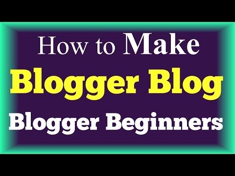 How to Create a Blogger Blog Step by Step Tutorial - Blogger Beginners! Tutorial 2014