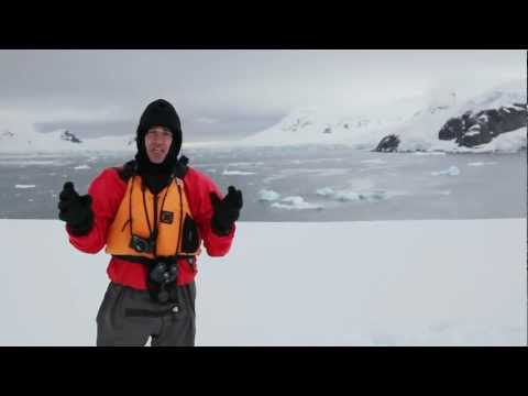 Anthony Horowitz visits the Antarctic to research Oblivion