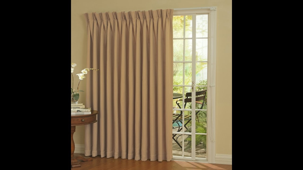 Patio Door Curtains How To Select The Right Patio Doors Youtube