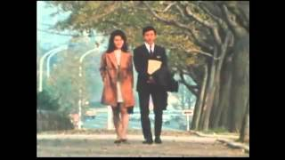 A beautiful love story of 竹脇無我&栗原小巻 in 1971.