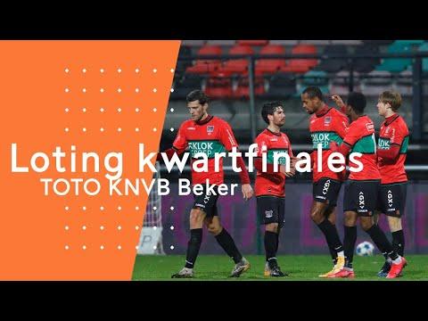 Loting kwartfinales TOTO KNVB Beker