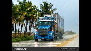 411#Alex-Дальнобой СШA....I-8,AZ-CA..Дюны Калифорнии на границе с Мексикой..USA..
