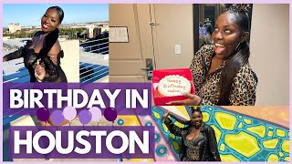 VLOG: BIRTHDAY IN HOUSTON + MEETING MY TWITTER FRIENDS IN REAL LIFE | INDIA MONEE'