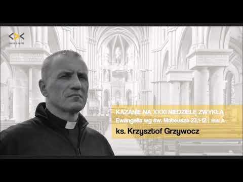 ks. Krzysztof Grzywocz - Kazanie na XXXI Niedzielę zwykłą - serce i nerki