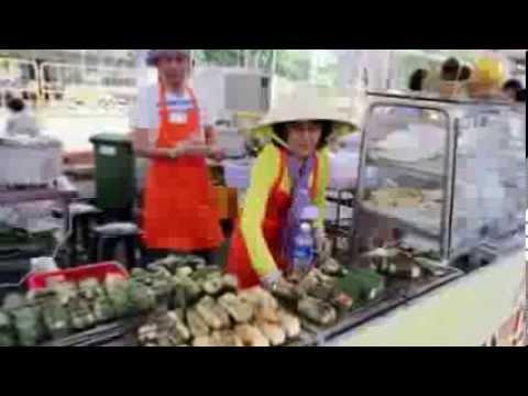 [Cà phê sáng với VTV3] Món ngon: chuối nếp nướng Sài Gòn