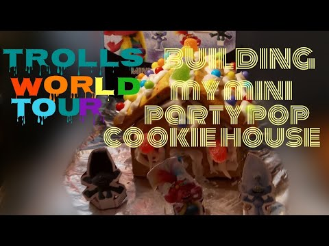 Download Building My Trolls World Tour Mini Party Pop Holiday Cookie House