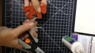 Convert wood mount rubber stamps to cling mount