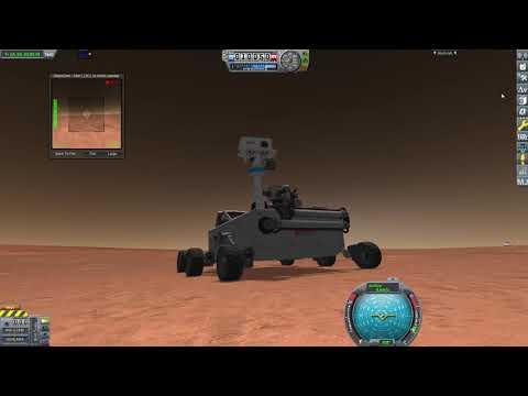 Rover Landing in Mars - Kerbal Space Program  