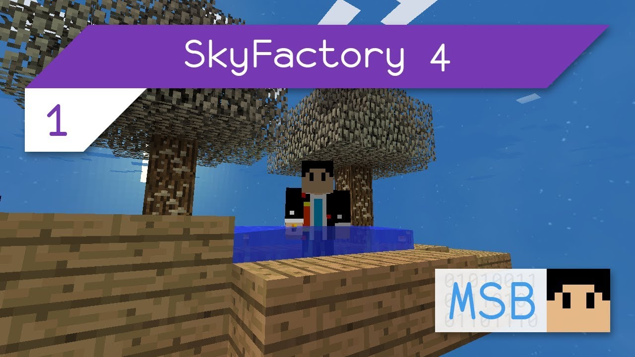 Sky Factory 4 Getting Started