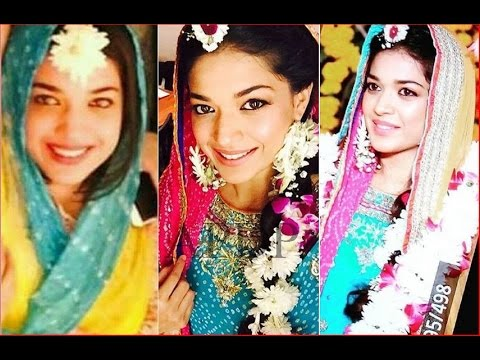 0aca69ef1c Pakistani Actress Sanam Jung Wedding and Mehndi Pictures - YouTube