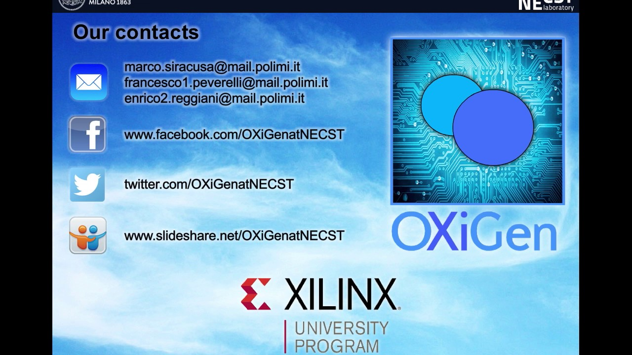 Xilinx University Program Open Hardware Design Contest