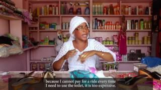 Sanitation and Hygiene in public spaces for women:  Kaffrine Market, Senegal