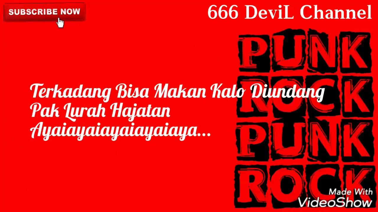 Lirik Punk Rock Jalanan