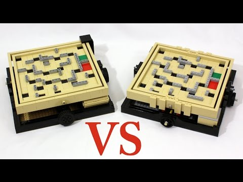 LEGO Maze 21305 vs Original Ideas Model