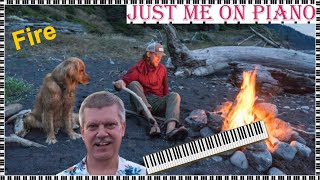 Definitive rock song - fire (jimi hendrix) cover version on piano