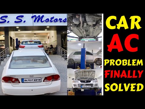 MY CAR AC PROBLEM SOLVED | SS MOTORS | AC SERVICING | NEW WIPER | Rahul Singh