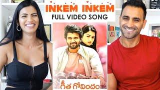 INKEM INKEM (Full Video Song) REACTION!!   Geetha Govindam   Vijay Deverakonda   Rashmika