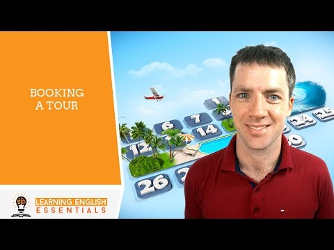 English Conversation Topics - Booking a Tour