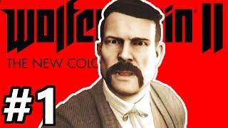 Wolfenstein II: The New Colossus Gameplay Walkthrough Part 1