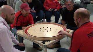 2019 Ontario Doubles Crokinole Championship - Conrad/Hutchinson v Beierling/Beierling