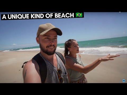 WE FOUND A UNIQUE BRAZILIAN BEACH 🇧🇷 BARRA DE SAO MIGUEL | BRAZIL TRAVEL VLOG