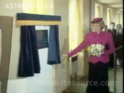 Princess Diana at Newham General Hospital