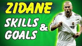 zidane best goals skills