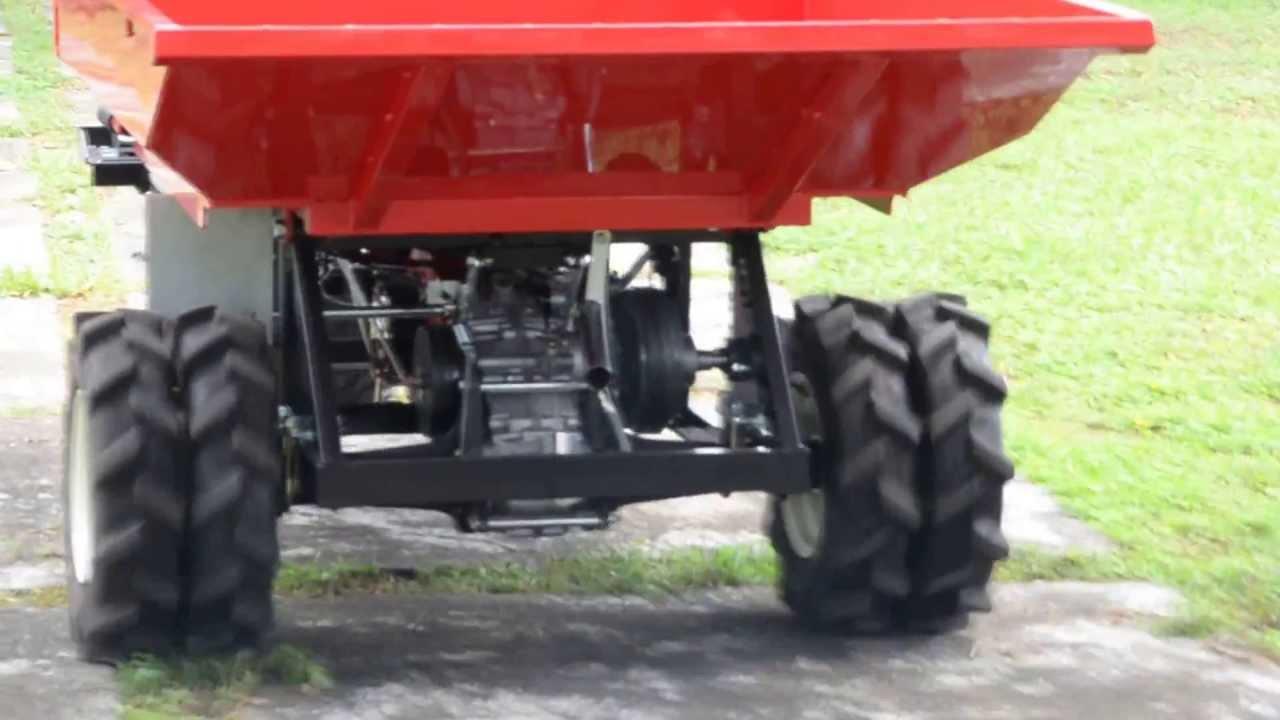 SL-800ML後輪驅動搬運車系列-三輪車(power transporter) - YouTube