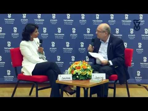 Qanta Ahmed Unveiled - Dialogue with Technion President Peretz Lavie 2015 Board of Governors