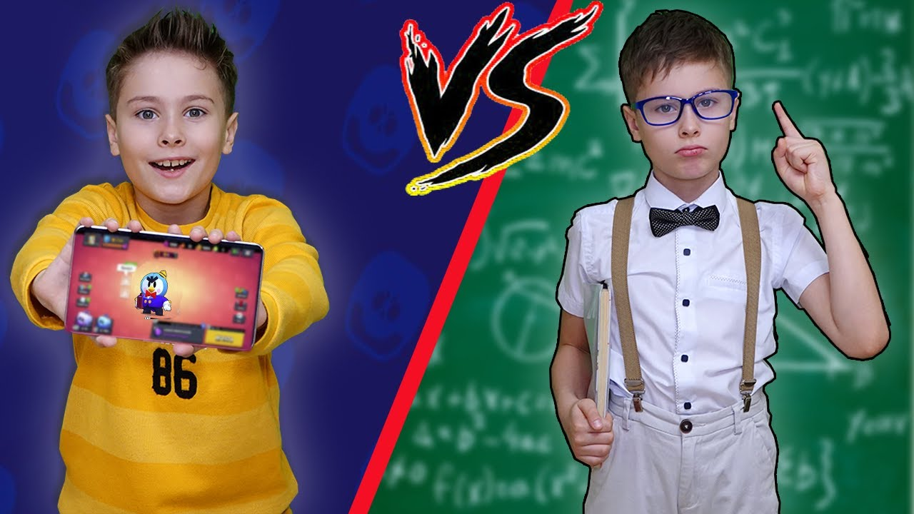 БРАВЛЕР VS БОТАН кто больше понравится маме? Примерный школьник? Скетчи от Fast Sergey
