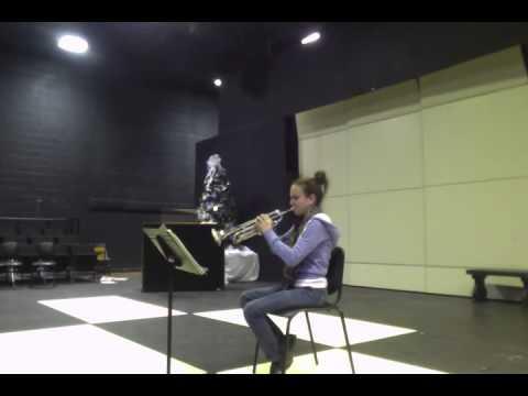 Fantasy for Bb Trumpet, Op. 100; Malcolm Arnold