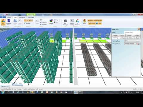 Que es el layout del un almac n y su dise o doovi for Free warehouse layout design software