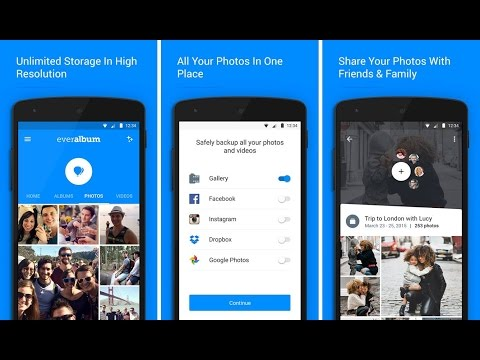 Everalbum - Best Gallary App ( Now Available in Android with Limitless Cloud Storage)