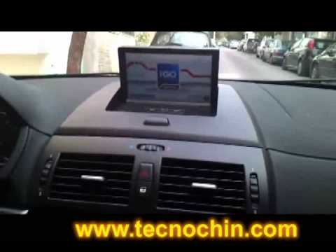 autoradio bmw x3 2004 2010 7 gps tdt wifi 3g youtube. Black Bedroom Furniture Sets. Home Design Ideas