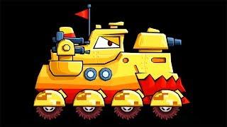 ХИЩНЫЕ МАШИНЫ против ПОЛИЦЕЙСКИХ МАШИН #25. ВСЕ БОССЫ! Мультик по игре Car Eats Car 3