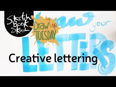 Draw Tip Tuesday: Creative Lettering