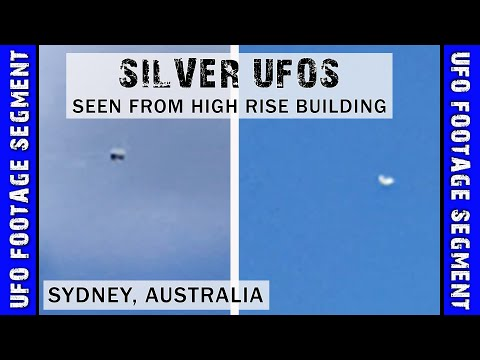 UFO SIGHTING VIDEO • 2 Objects Seen From High-Rise • Sydney Australia