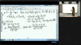 Аналитическая геометрия на плоскости. Решение задач