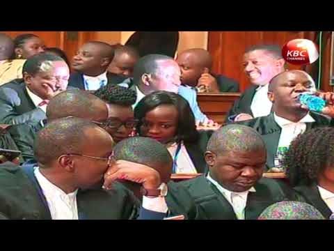 Supreme court majority judgement - IEBC did not verify presidential results