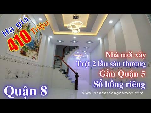Video nhà bán Quận 8 mới xây cực đẹp, gần cầu Nguyễn Văn Cừ qua Quận 5 1 phút, hẻm 231 Dương Bá Trạc P1 Q8