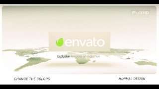 World Map Animation After Effects Template Free Download