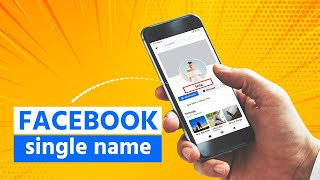 How to make facebook single name ||  100% Working (Bangla)