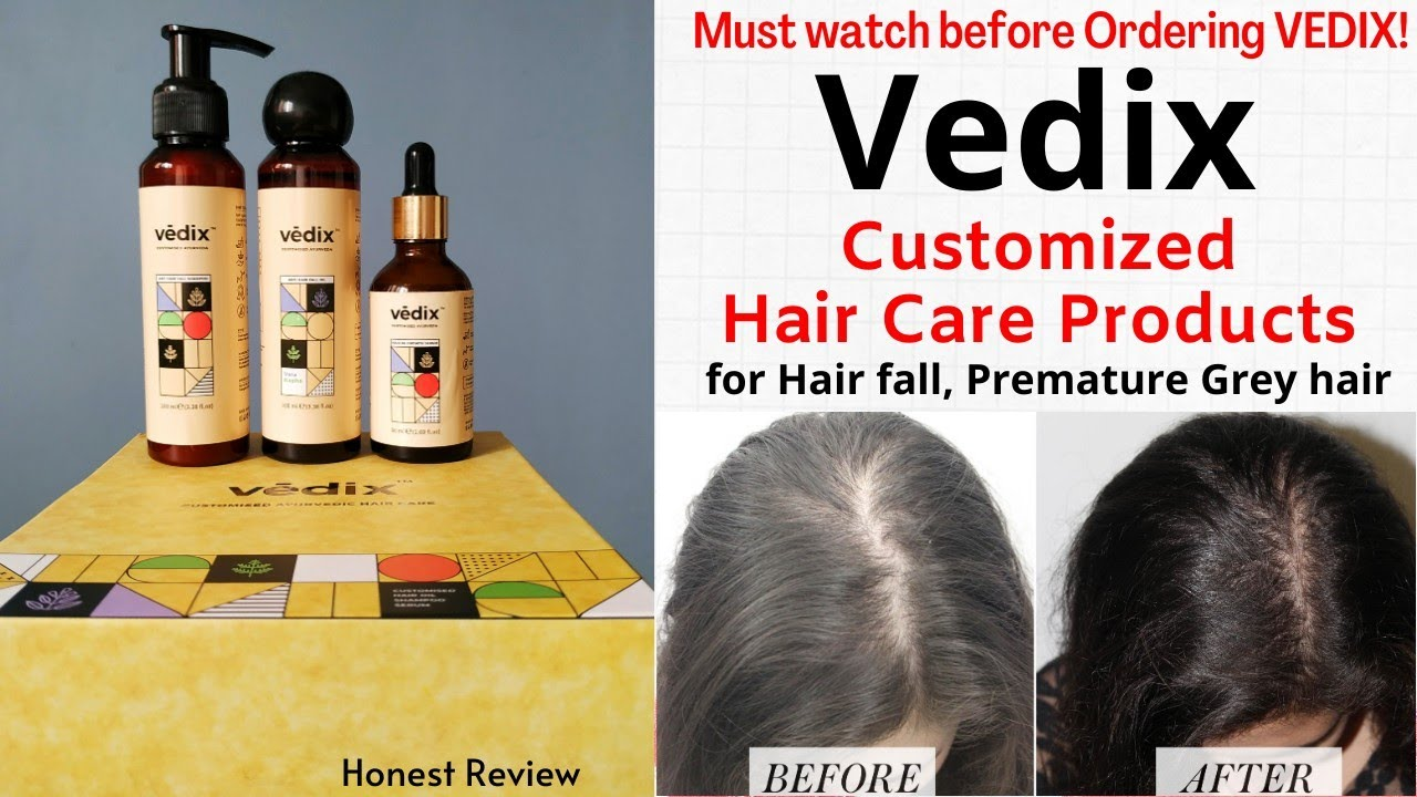 Vedix Honest Review After 1 Month Vedix Customized Hair Care To Reduce Hair Fall Best In Beauty Youtube